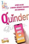 Affiche Quinder - Théâtre des Blancs Manteaux