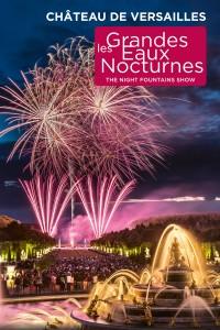 Affiche Les Grandes Eaux Nocturnes - Château de Versailles