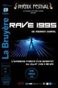 Affiche Rave 1995 - Théâtre La Bruyère