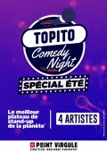 Affiche Topito Comedy Night - Le Point Virgule