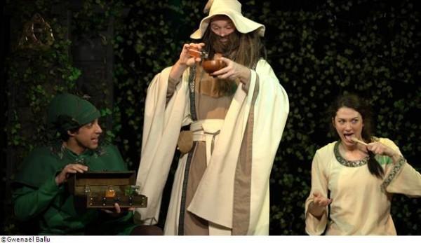 Cyrilla et Guy le druide