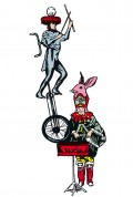Affiche Le Cirque invisible - Théâtre du Rond-Point
