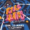 Future Islands à l'Olympia