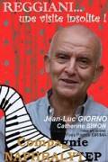 Affiche Serge Reggiani, une visite insolite - Théâtre L'Essaïon