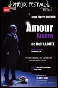 Affiche Amour amère - Comédie Bastille
