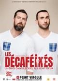 Affiche Les Décaféinés - Un duo dans lequel ils sont deux - Le Point Virgule