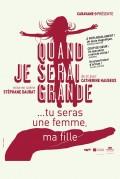 Affiche Quand je serai grande... tu seras une femme, ma fille - Théâtre L'Essaïon