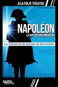 Affiche Napoléon, la nuit de Fontainebleau - À la Folie Théâtre