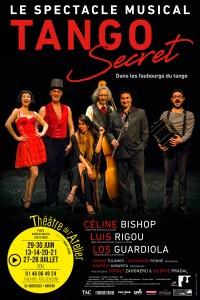 Affiche Tango Secret - Théâtre de l'Atelier