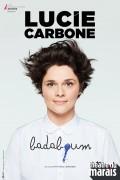 Affiche Lucie Carbone - Badaboum - Théâtre du Marais