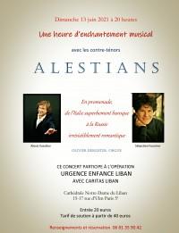 Alexis Vassiliev, Sébastien Fournier et Olivier Dekeister en concert