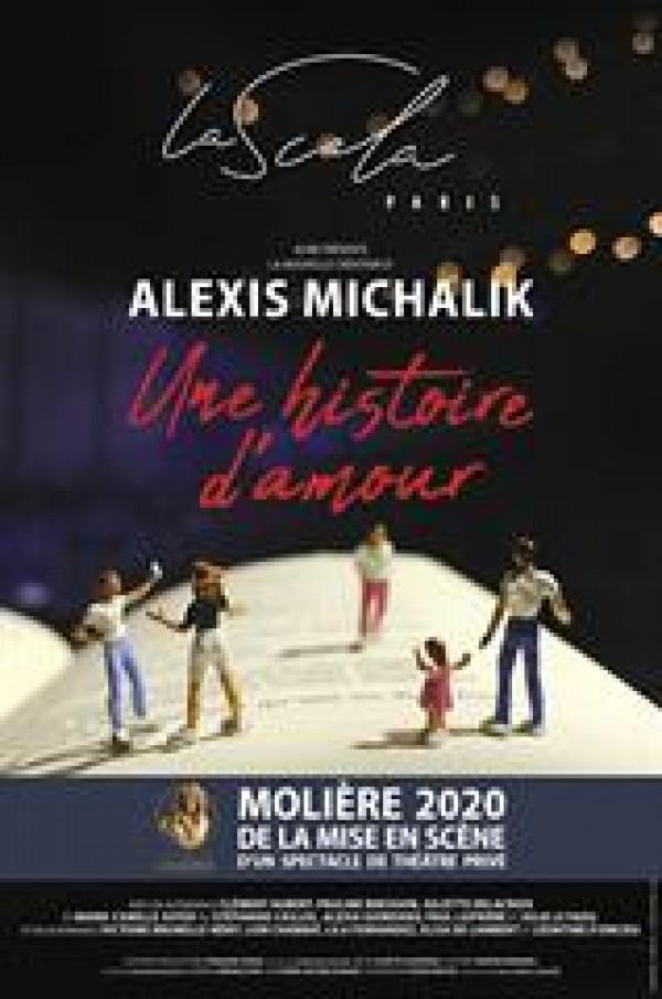 Affiche Une histoire d'amour - La Scala Paris