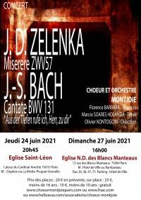 Les Chœur et orchestre Montjoie, Florence Barbara et Marcio Soares-Holanda en concert