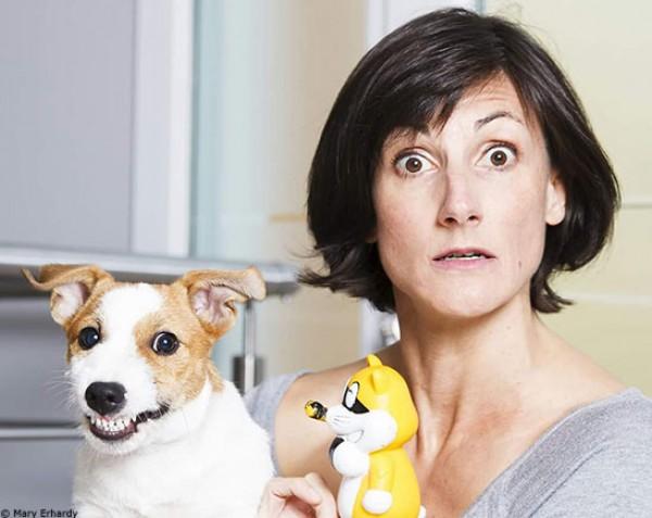 Véto Show : Carole CK et son chien