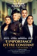 Affiche L'importance d'être constant - Théâtre Hébertot