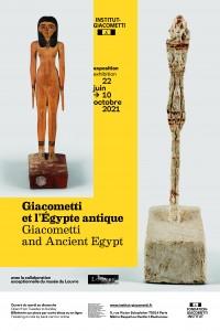 Exposition Giacometti et l'Égypte antique