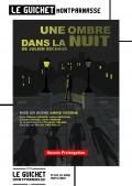 Affiche Une ombre dans la nuit - Guichet-Montparnasse