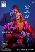 Affiche Maman - Théâtre Édouard VII : Vanessa Paradis, Éric Elmosnino, Félix Moati