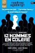 Affiche du spectacle 12 hommes en colère - Théâtre Hébertot