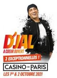 Affiche Djal - À coeur ouvert - Casino de Paris