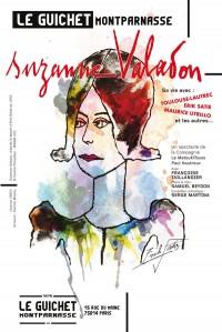 Affiche Suzanne Valadon - Guichet-Montparnasse