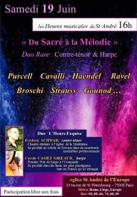 Le Duo L'Heure exquise en concert