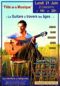 Cyprien N'Tsaï en concert