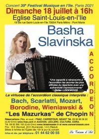 Basha Slavinska en concert