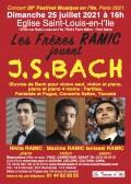 Maxime Ramic, Nikita Ramic et Ienissei Ramic en concert