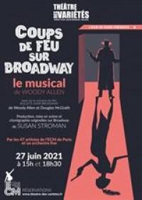 Affiche Coups de Feu sur Broadway - Le musical - Théâtre des Variétés
