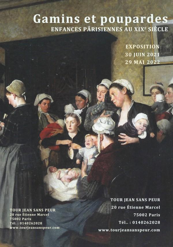 Exposition Enfances parisiennes à la Tour Jean sans Peur