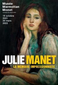 Affiche de l'exposition Julie Manet au Musée Marmottan Monet