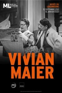 Exposition Vivian Maier au Musée du Luxembourg - Affiche