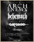 Arch Enemy et Behemoth au Zénith de Paris
