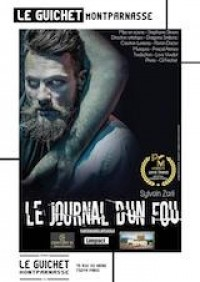 Affiche Le journal d'un fou - Guichet-Montparnasse