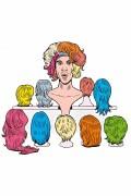 Affiche Thomas joue ses perruques - Théâtre du Rond-Point