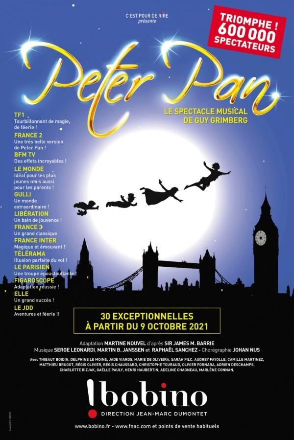 Affiche Peter Pan - Bobino