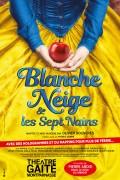 Affiche Blanche-Neige et les sept nains - Théâtre de la Gaîté-Montparnasse