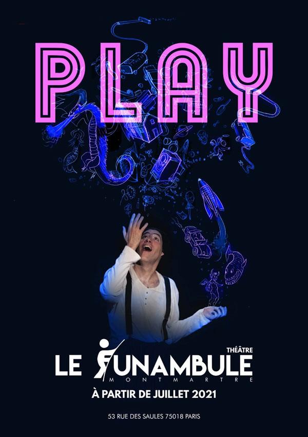 Affiche Play - Le Funambule