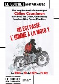 Affiche Où est passé l'homme à la moto ? - Guichet-Montparnasse