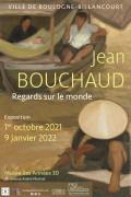 Affiche de l'exposition Jean Bouchaud (1891-1977), Regards sur le monde