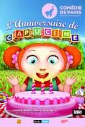 Affiche L'Anniversaire de Capucine - Comédie de Paris