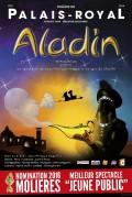 Affiche Aladin - Théâtre du Palais-Royal