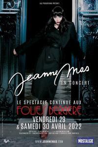 Jeanne Mas aux Folies Bergère