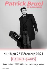 Patrick Bruel au Casino de Paris