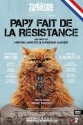 Affiche Papy fait de la résistance - Théâtre de Paris
