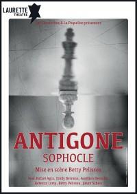 Affiche Antigone - Laurette Théâtre