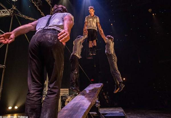 Machine de cirque : Saut