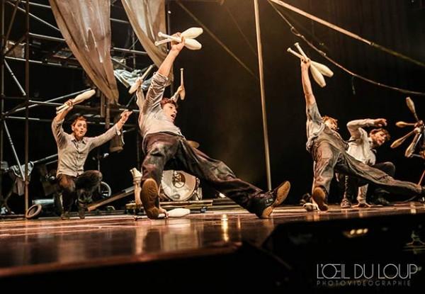Machine de cirque : danse