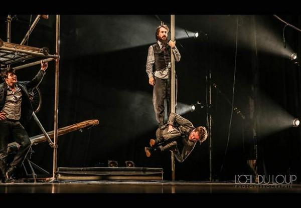 Machine de cirque : mât